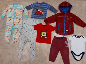 Boys' clothes agedd 12-18mc