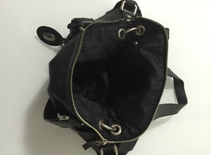 Fossil Maddox Black Leather Purse Strathcona County Edmonton Area image 3