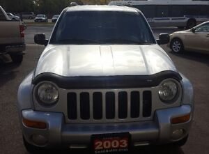 2003 Jeep Liberty Limited SUV, Crossover 2 YRS WAR LOW KM Cambridge Kitchener Area image 2