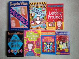 7 x Jacqueline Wilson Books
