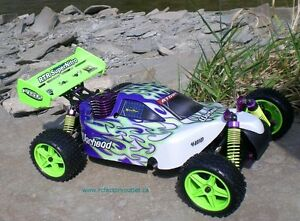 New RC Buggy / Car Nitro Gas Engine 4WD 2.4G !/10 Scale Warhead Belleville Belleville Area image 4
