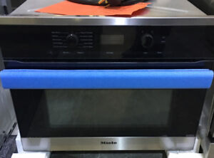 """24"""" stainless steel speed oven new Miele $2899"""