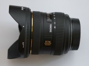 new sigma EX 10 20 4-5.6 ultra wide zoom for Nikon crop sensor