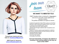 WE WANT TO MENTOR YOU!
