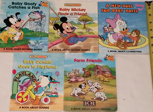 Qty 5 Disney Babies BOARD Books (Lot # 2)