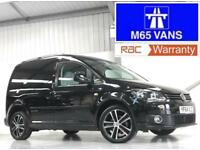 VW VOLKSWAGEN CADDY BLACK EDITION LOW MILEAGE 17,000 RARE VAN 1.6TDI 102PS