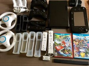 Wii U 32GB + a ton of extras - excellent condition