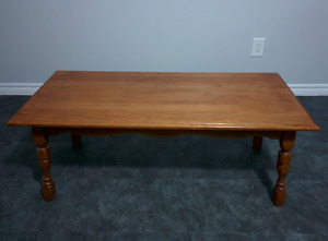 Flawless Solid Maple Coffee Table