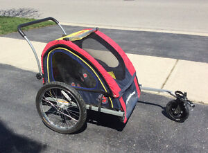 Schwinn two seater bike trailer/stroller