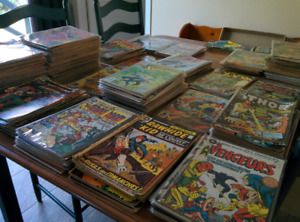 Lot de comic books
