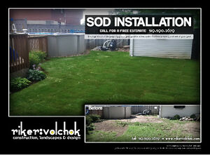SOD INSTALLATION SPECIAL - FLAT RATE Kitchener / Waterloo Kitchener Area image 9