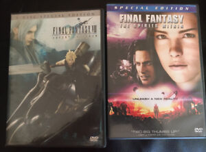 Final fantasy dvd