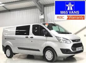 FORD TRANSIT CUSTOM TREND 125PS 330 L2H1 LWB COMBI IDEAL CAMPER OR DAY VAN