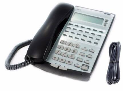 NEC IP2AT - 12TXD TELEPHONES (BLACK) - 5 AVAILABLE