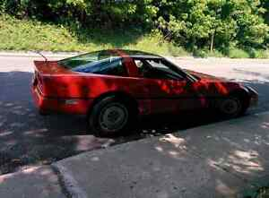 Corvette 1987 showroom ready Collection car 30 year