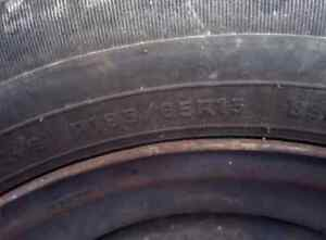 Two tire on rims London Ontario image 1