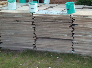 Used Insulation Roofing Material