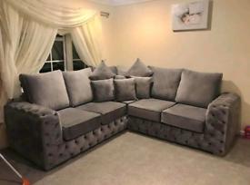 Ashton Corner Sofa With Full Back Cushions