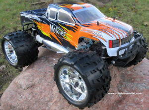 New Nitro RC Truck 1/8 Scale 4.57cc Engine 4WD 2 Speed 2.4G