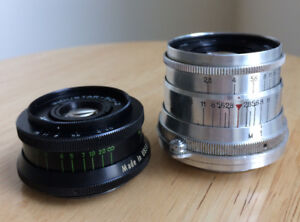 Industar 50-2  F/3.5 Camera Lens/ 35mm /Soviet/USSR/Russian/M-42