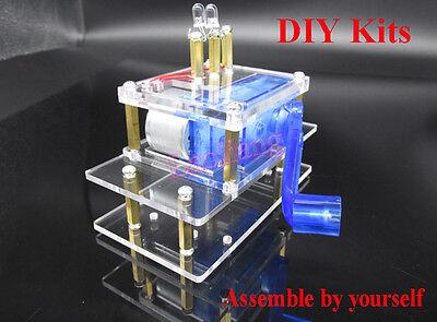 Experimentation Kit - Dynamo Hand Crank Generator Electronic Experimentation DIY Kits Emergency power