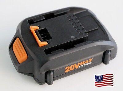 replacement worx 20V WA3525  WA3520 WA3512 Battery  WG160 WG163 Grass Trimmer