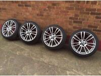 """BMW 3/4 SERIES 19"""" 403M ALLOY WHEELS AND TYRES - F30 F31 F32 F33 F36 E92 ALLOYS"""