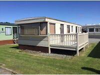 Private sale static caravan holiday home at ocean edge Morecmabe Heysham north west lancashire