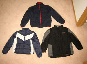 Fall & Winter Jackets, Boys Clothes - 12, L, 14, 16, men's S