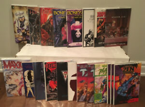 Collection of 20 comic book trade paperbacks and graphic novels