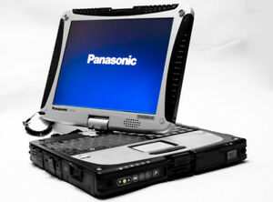 Panasonic Toughbook Cf-19 Laptop Fully Rugged 650GB Win7 Office