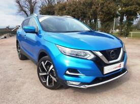 2017 17 New Generation Qashqai 1.2 DIG-T Tekna Petrol Manual with Panoramic Roof