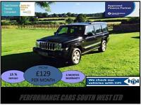 Jeep Commander 3.0 CRD V6 Limited 4x4 5dr £7,495 FSH, 2 KEYS, 6 MONTH WARRANTY!