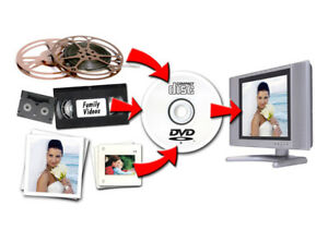 Convert those home videos to digital and protect your memories!