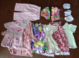 11 pieces  9-18 Months Baby Girl Clothes