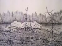 DRAWING WITH PEN & INK