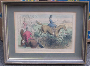 6 Framed Vintage Hunting themed Pictures London Ontario image 4