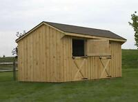 HORSE BARNS | SHED ROW HORSE BARNS | DELIVERED FULLY ASSEMBLED