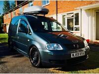 VW Caddy 5 Seat Day Van / Camping