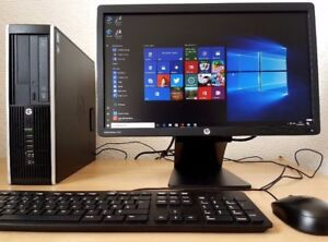 FULL PC/SETUP HP -8GB/500g/Wifi/HDMI/USB 3.0/WIN10/OFFICE2016!!