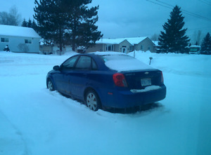 2004 Chevrolet Optra - FOR PARTS