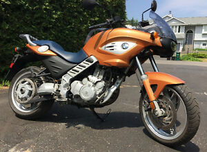 BMW F 650cs motorcycle for sale.