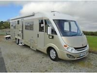 Burstner Elegance i821 Luxury 5 Berth - Tag Axle - A-Class Motorhome For Sale