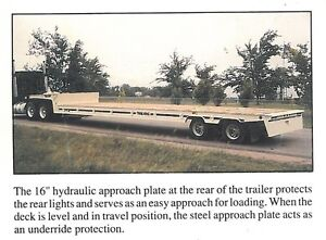 2001 TRAIL KING 48' TRAILER FOR SALE