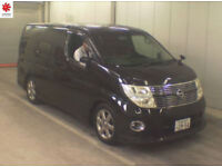 2007 (57) NISSAN ELGRAND H/Star 3.5 V6 Automatic Series 3 BLACK LEATHER EDITION