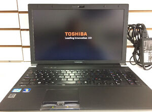 Toshiba tecra R850 Core i5 2.5GHZ 4GB 128GB SSD webcam HDMI 15.6