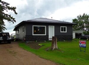 Renovated house north of Melfort !