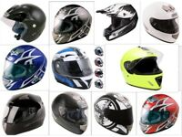 Job Lot of 36 motorbike helmets