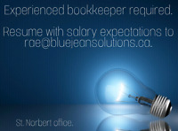 Full-time Bookkeeper Required