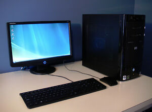 Ensemble Ordinateur de Bureau HP Pavilion Media Center